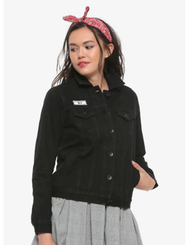 Her Universe Studio Ghibli Kiki's Delivery Service Best Witch Girls Black Denim Jacket by Hot Topic