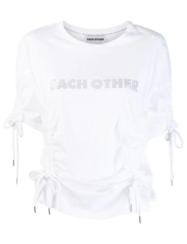 Drawstring T Shirt by Each X Other