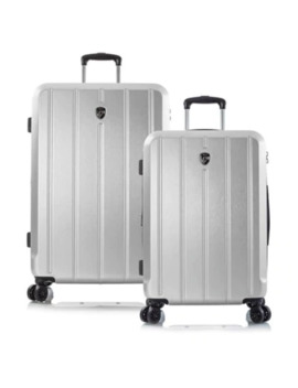 Heys® Para Lite 30 Inch Hardside Spinner Checked Luggage In Rose Gold by Bed Bath And Beyond