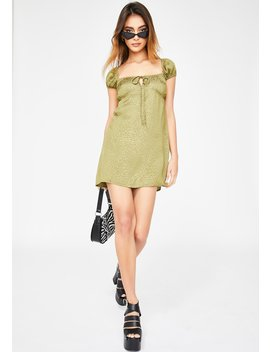 Khaki Cheetah Gaval Dress by Motel