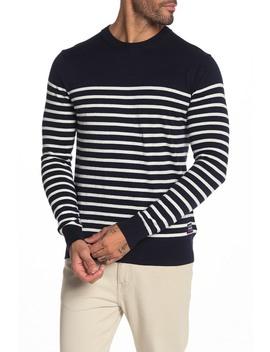 Striped Crew Neck Pullover by Scotch & Soda