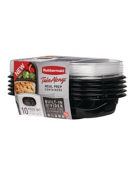 Rubbermaid Takealongs Meal Prep Containers by Walmart
