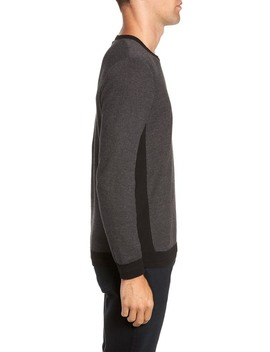 Crew Neck Space Dye Sweater by Vince Camuto
