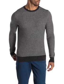 Birdseye Crew Neck Sweater by Brooks Brothers