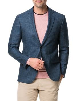 Saint John Regular Fit Wool, Cotton & Linen Sport Coat by Rodd & Gunn