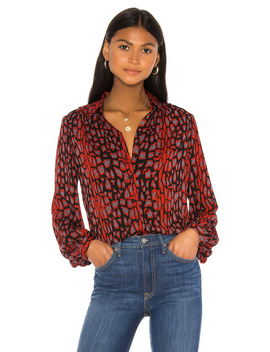 mona-leopard-blouse by bardot