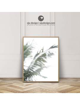 Palm Leaves Poster   Palm Leaf Print   Tropical Wall Art Printable   Botanical Artwork   Abstract Photography   Beach Cottage Decorations by Etsy