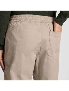 Men Cotton Relax Ankle Pants by Uniqlo