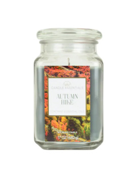 Candle Essentials Autumn Hike 17 Oz. Candle Jar by Candle Essentials