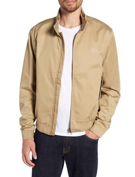 Regular Fit Zip Harrington Jacket by Lacoste