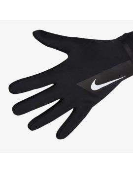Nike Academy Hyperwarm Gloves   Black/Black/White by Pro Direct Soccer