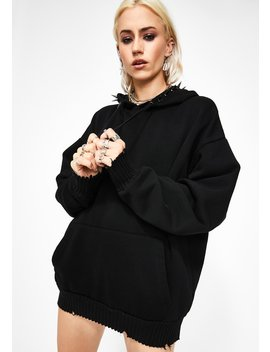 Deranged Desire Spike Hoodie by Current Mood