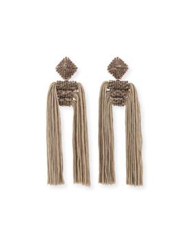 Sachin & Babi Dupio Crystal & Tassel Drop Earrings by Sachin & Babi
