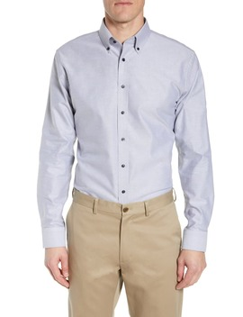 Trim Fit Oxford Dress Shirt by 1901