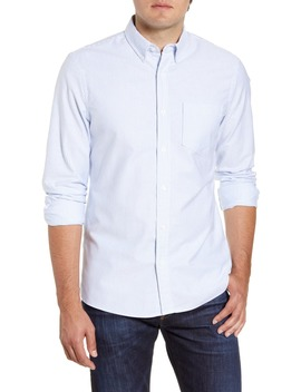 Trim Fit Washed Oxford Shirt by 1901