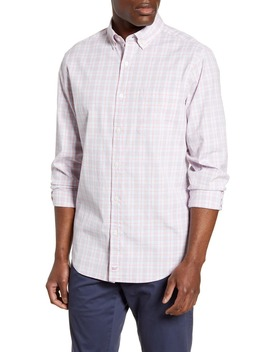 Murray Classic Fit Pastel Check Button Down Shirt by Vineyard Vines