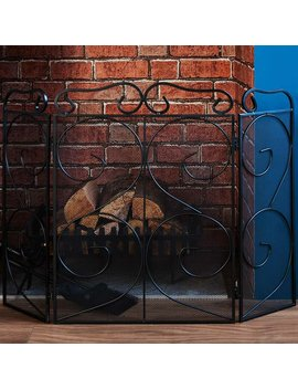 Tapton Steel Fireplace Screen by Alwyn Home