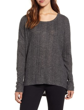 Cozy Ribbed Top by Caslon