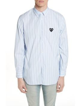 Stripe Woven Shirt by Comme Des GarÇons Play