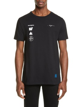 Mariana Graphic T Shirt by Off White