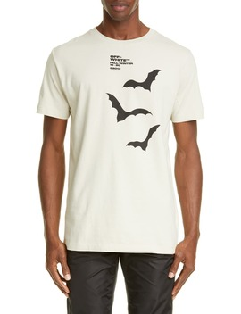 Bats Slim Fit T Shirt by Off White