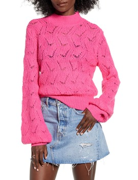 Pointelle Sweater by Astr The Label