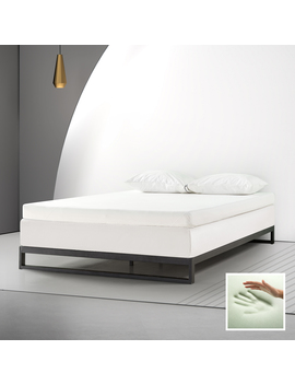 "Spa Sensations By Zinus 4"" Memory Foam Mattress Topper With Theratouch, Twin Xl by Spa Sensations"