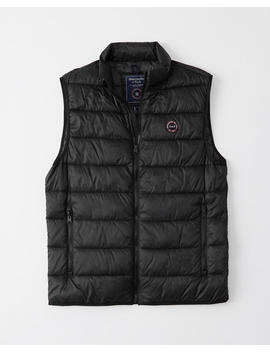 Lightweight Packable Vest by Abercrombie & Fitch