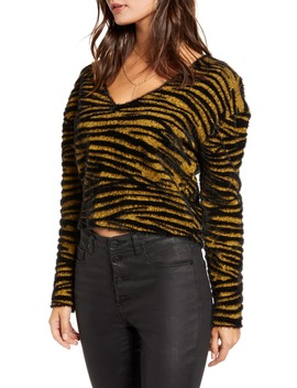 Tiger Stripe Pullover by Leith