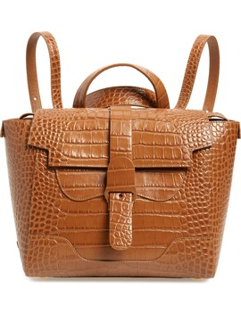 Midi Maestra Leather Satchel by Senreve