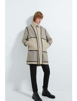 Check Patchwork Traveller Trench Coat by Zara