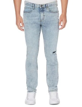Slim Fit Straight Jeans by Perry Ellis
