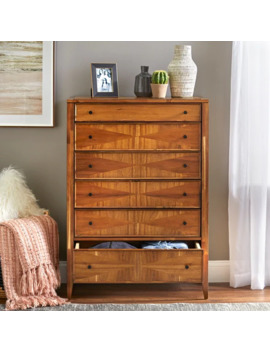 Lifestorey Monty 6 Drawer Chest by Lifestorey