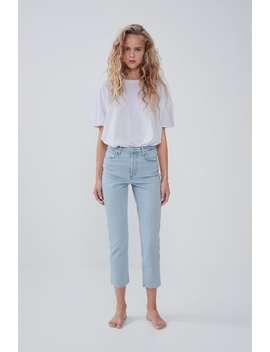 Hi Rise Trumpet Jeans by Zara