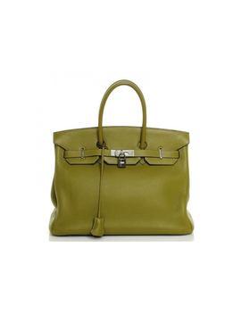 hermes-handbag-birkin-clemence-35-chartreuse by stockx