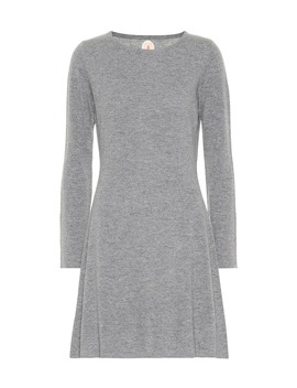 Wool And Cashmere Minidress by Jardin Des Orangers