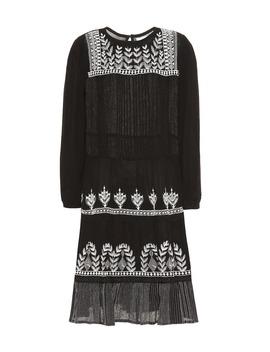Arabella Floral Embroidered Dress by Velvet