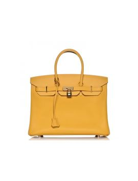 Hermes Birkin Epsom 35 Jaune D'or by Stock X