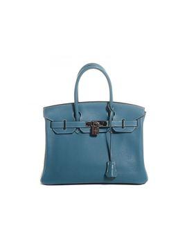 Hermes Birkin Clemence 30 Bleu Jean by Stock X