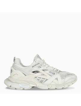 Total White Track.2 Sneakers by Balenciaga