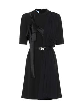 Belted Minidress by Prada