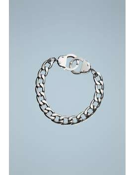 Bracelet With Handcuff Closure by Zara