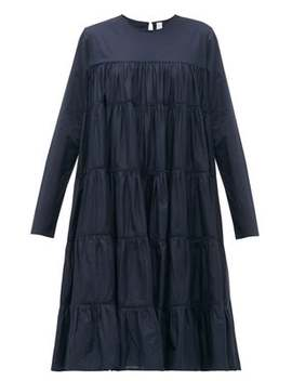 Essaouira Tiered Cotton Lawn Dress by Merlette