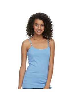Juniors' So® Favorite Satin Trim Cami by Juniors' So