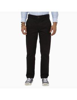 classic-fit-chinos---black by peter-manning