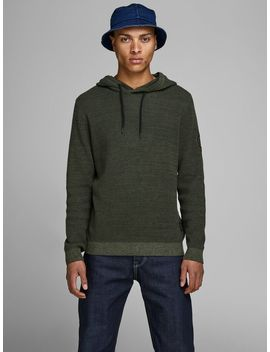 Structured Knit Hoodie by Jack & Jones