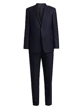 Single Breasted Wool Suit by Giorgio Armani