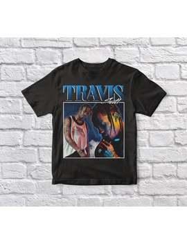 Travis Scott, Anni '90, Vintage, Unisex, Maglietta Nera by Etsy