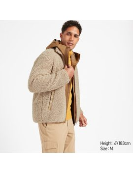 Men Fleece Lined Jacket by Uniqlo