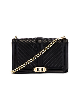 Chevron Quilted Love Crossbody Bag by Rebecca Minkoff